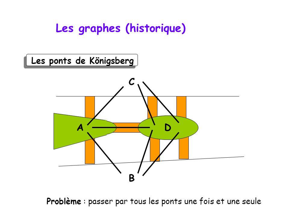 Les graphes (historique)