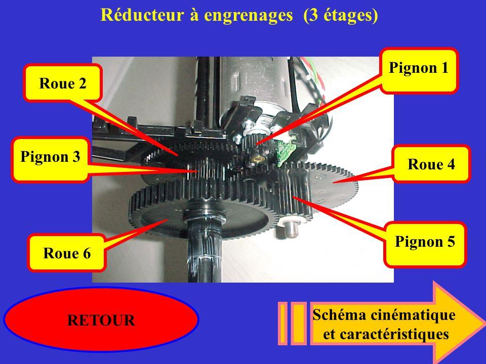 Réducteur à engrenages (3 étages)