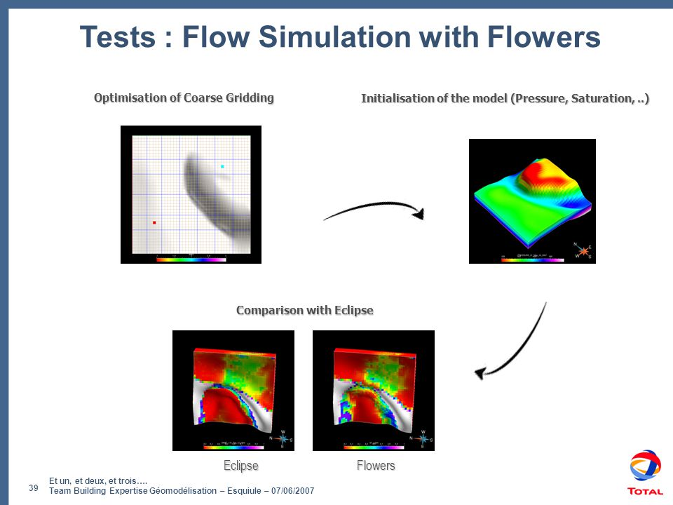 Tests : Flow Simulation with Flowers