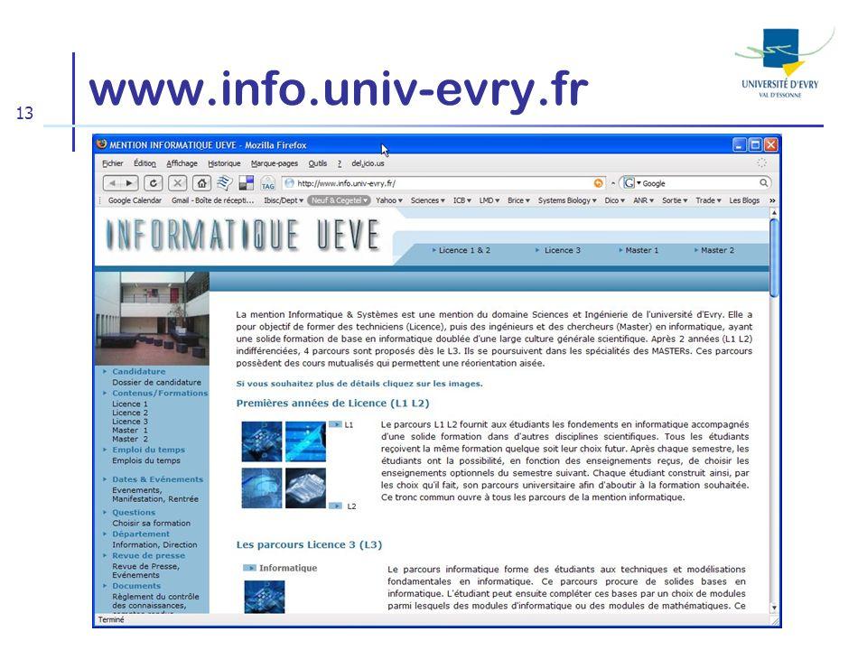 www.info.univ-evry.fr