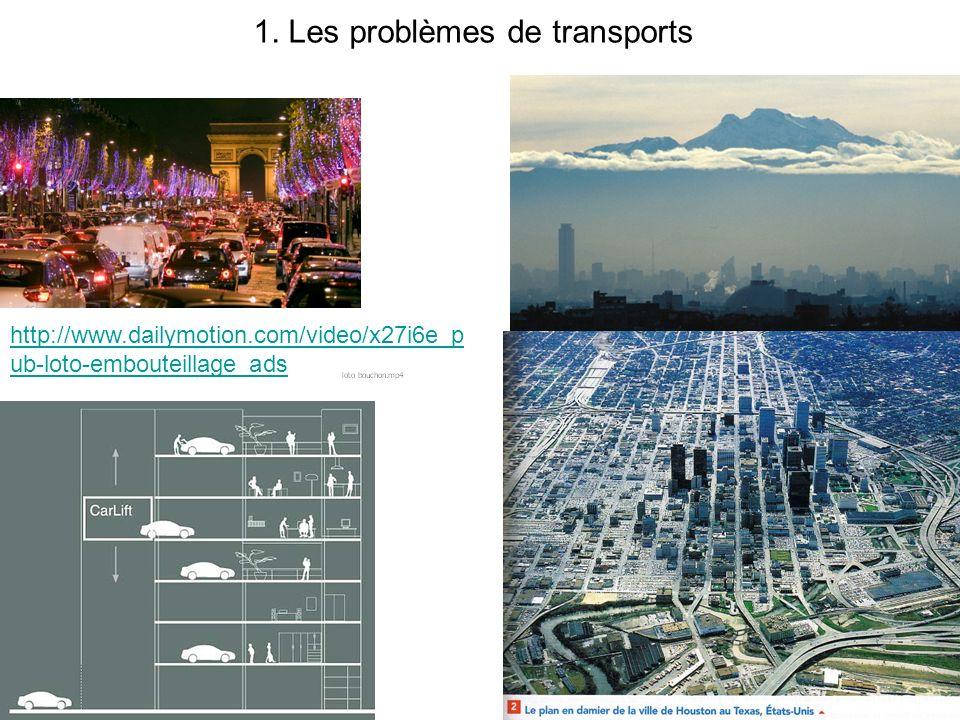 1. Les problèmes de transports