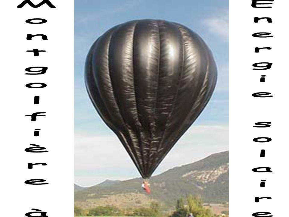 Montgolfière à Energie solaire