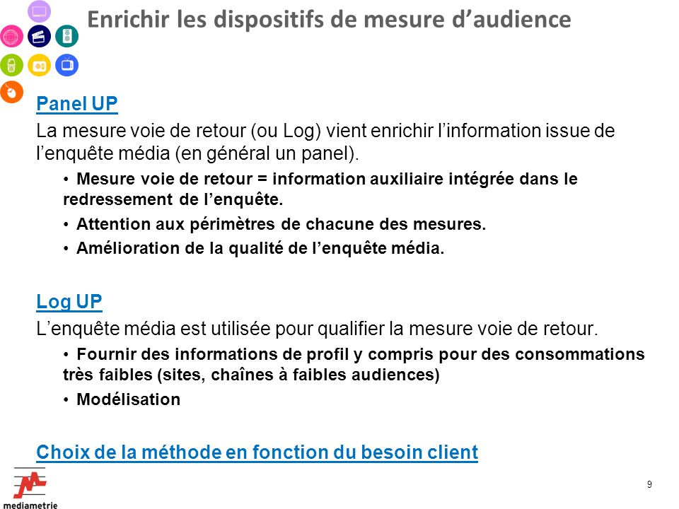 Enrichir les dispositifs de mesure d'audience