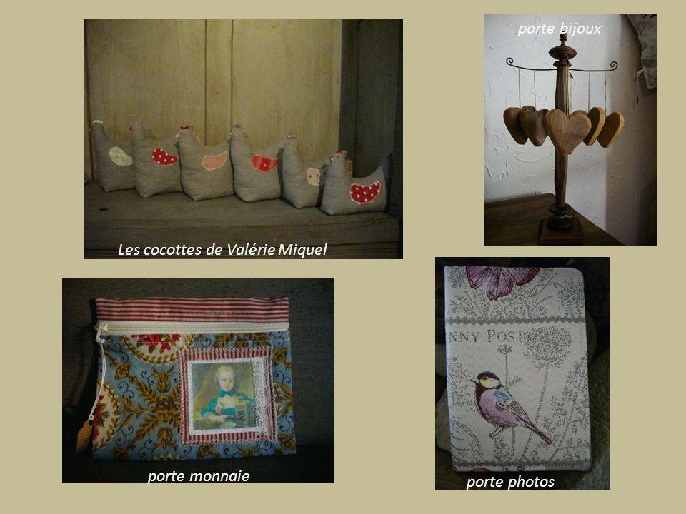 porte bijoux Les cocottes de Valérie Miquel porte monnaie porte photos