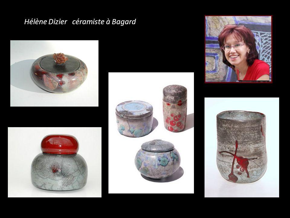 Hélène Dizier céramiste à Bagard