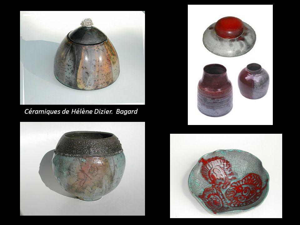 Céramiques de Hélène Dizier. Bagard