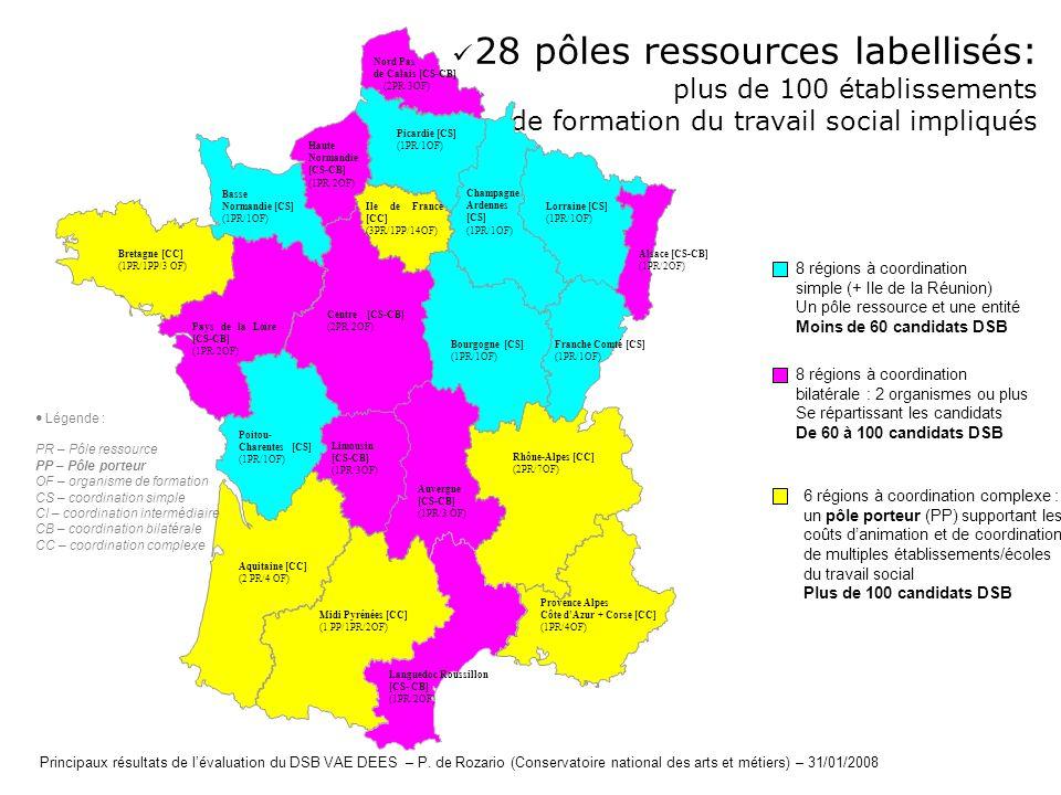 28 pôles ressources labellisés: plus de 100 établissements