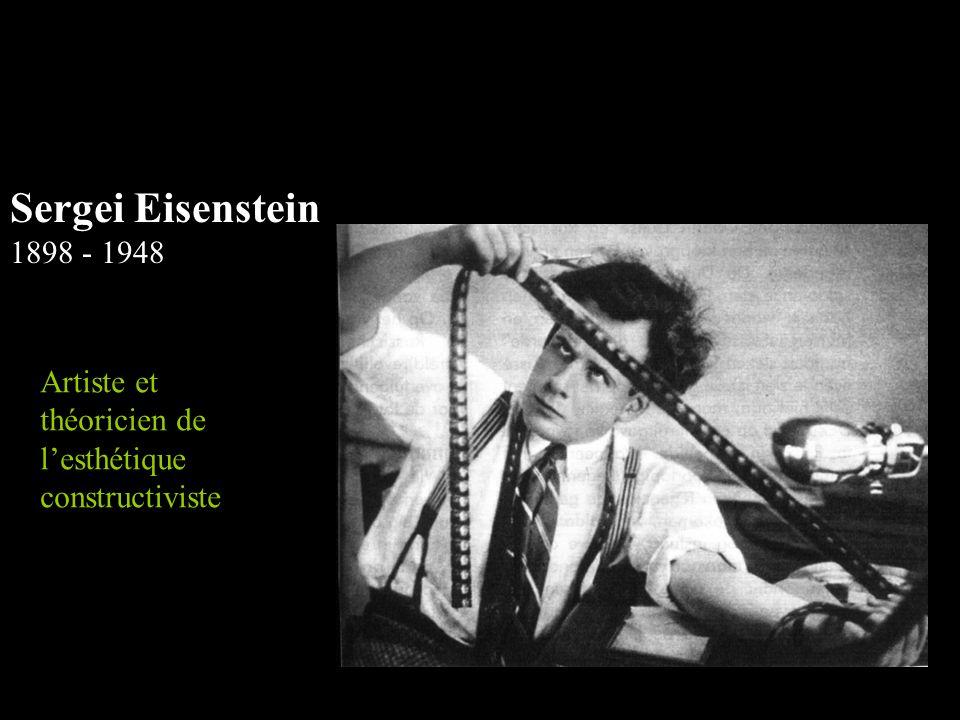 Sergei Eisenstein 1898 - 1948 Artiste et théoricien de