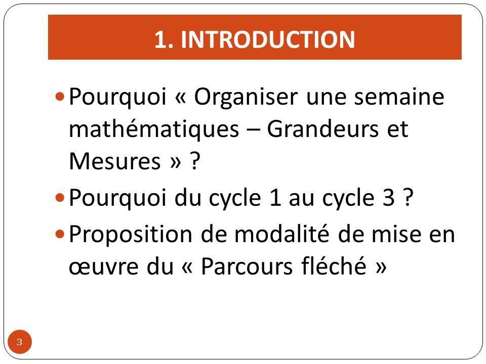 Pourquoi du cycle 1 au cycle 3