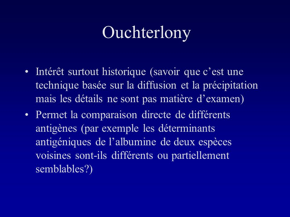 Ouchterlony