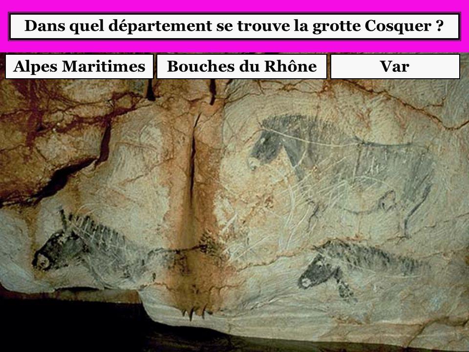 Dans quel département se trouve la grotte Cosquer