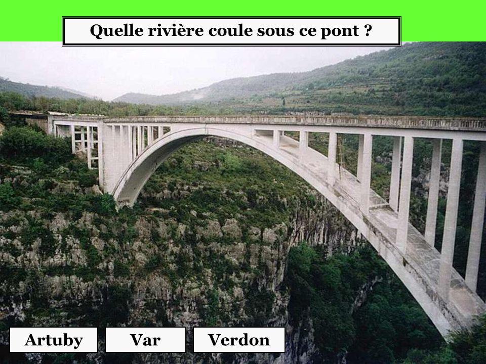 Quelle rivière coule sous ce pont