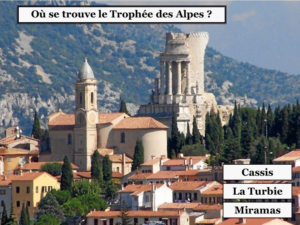Où se trouve le Trophée des Alpes