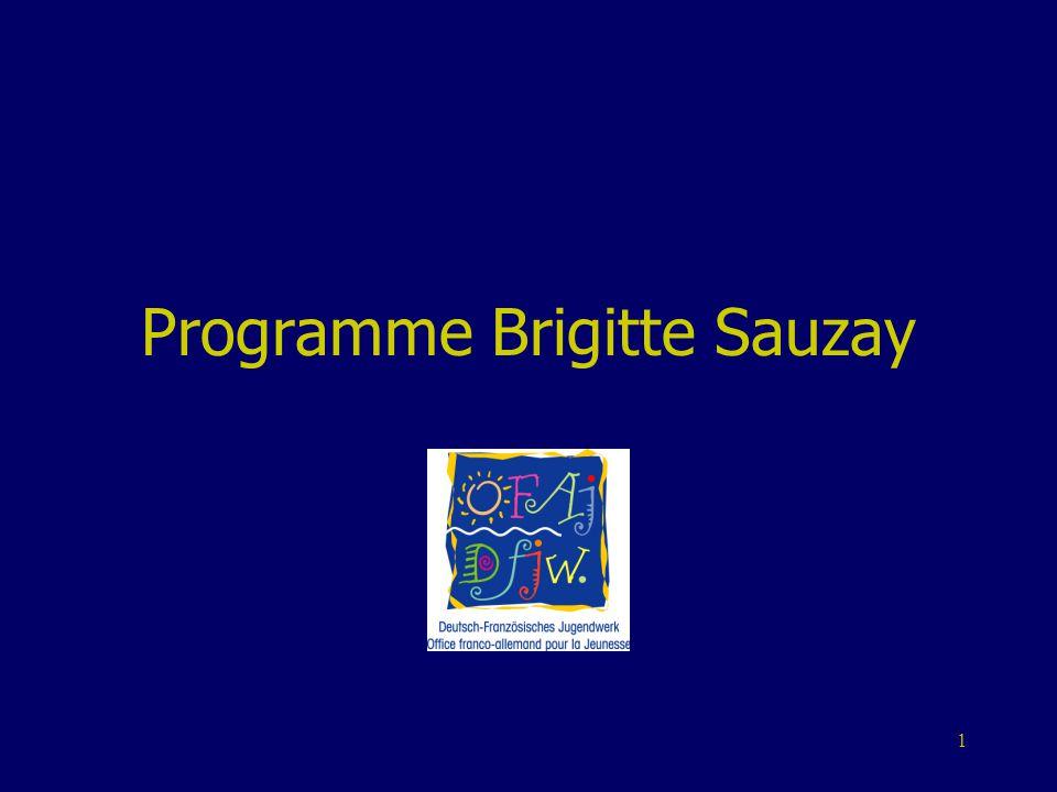 Programme Brigitte Sauzay