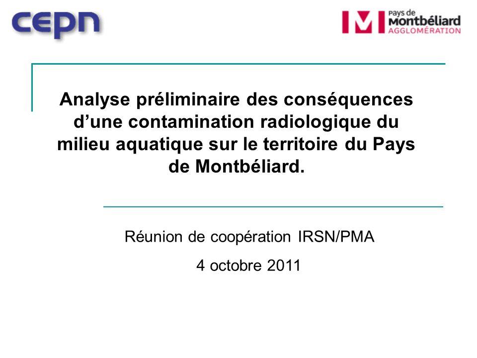 Réunion de coopération IRSN/PMA