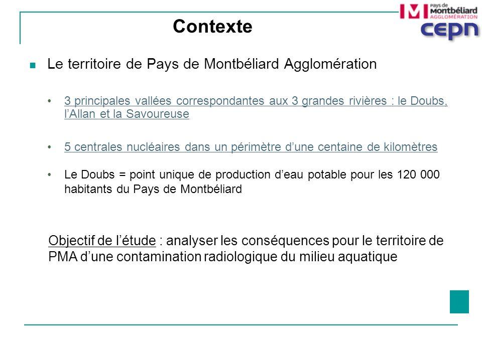 Contexte Le territoire de Pays de Montbéliard Agglomération