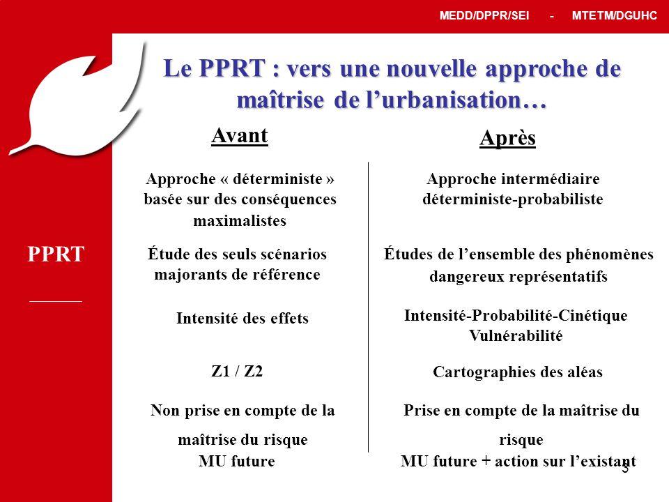 Le PPRT : vers une nouvelle approche de maîtrise de l'urbanisation…