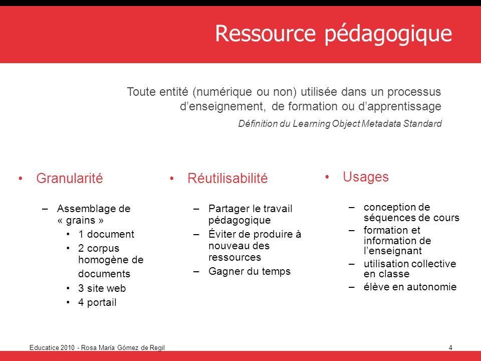 Ressource pédagogique