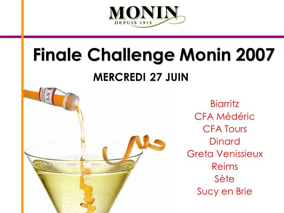 Finale Challenge Monin 2007
