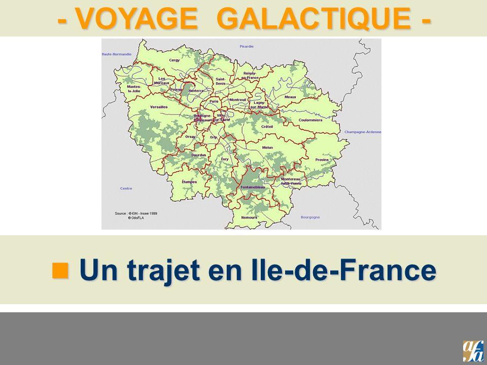 Un trajet en Ile-de-France