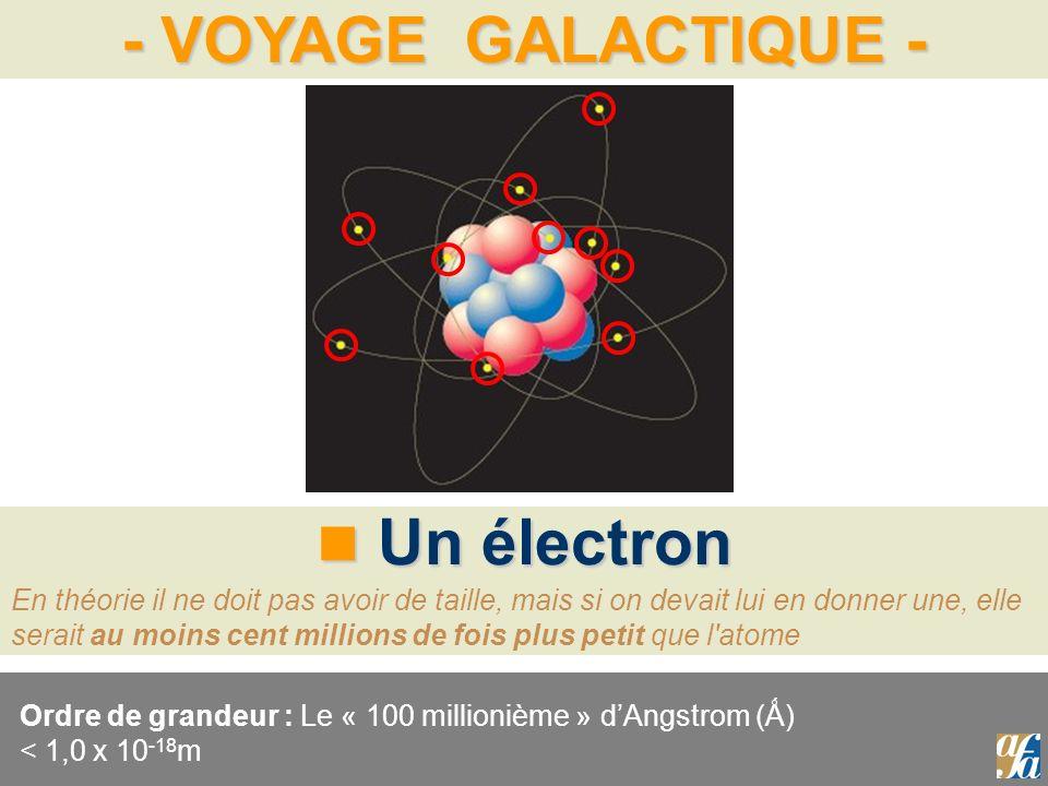 Un électron