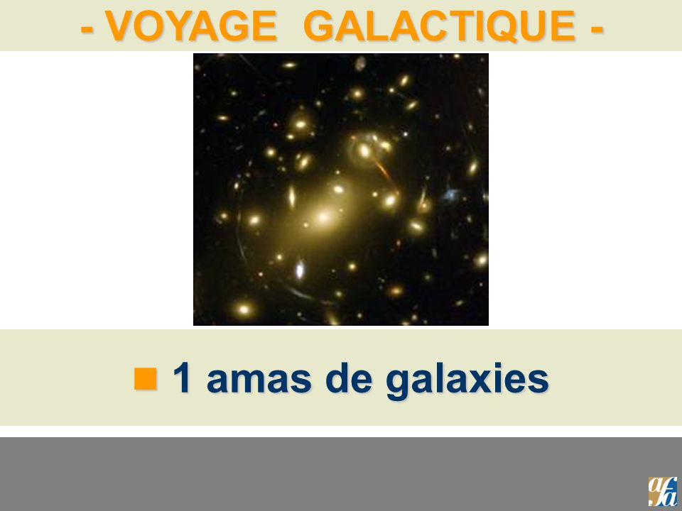 1 amas de galaxies
