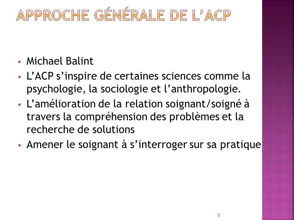 Approche générale de l'ACP