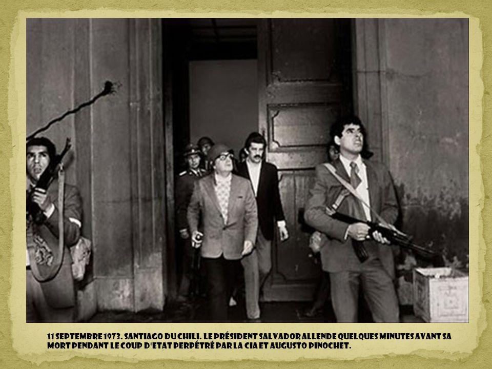 11 septembre 1973. Santiago du Chili