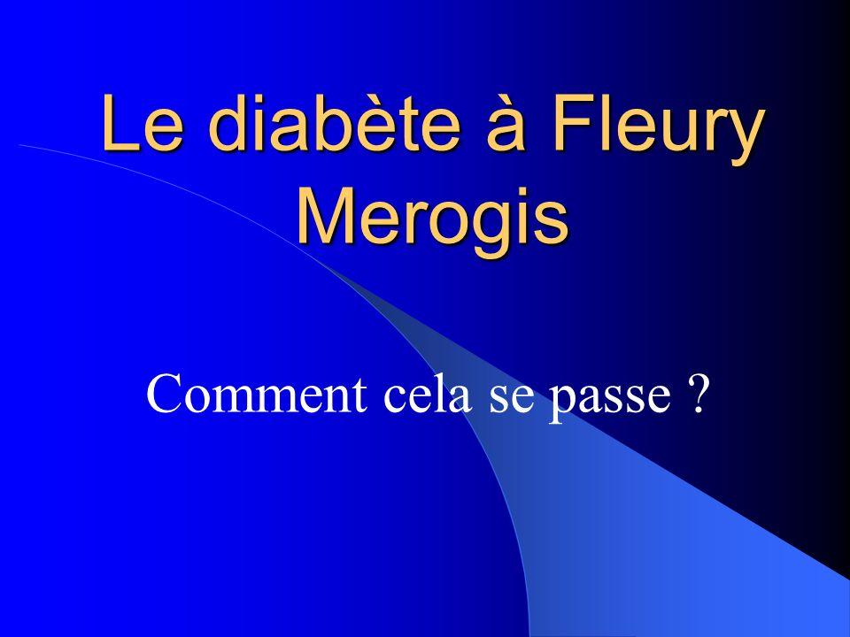Le diabète à Fleury Merogis