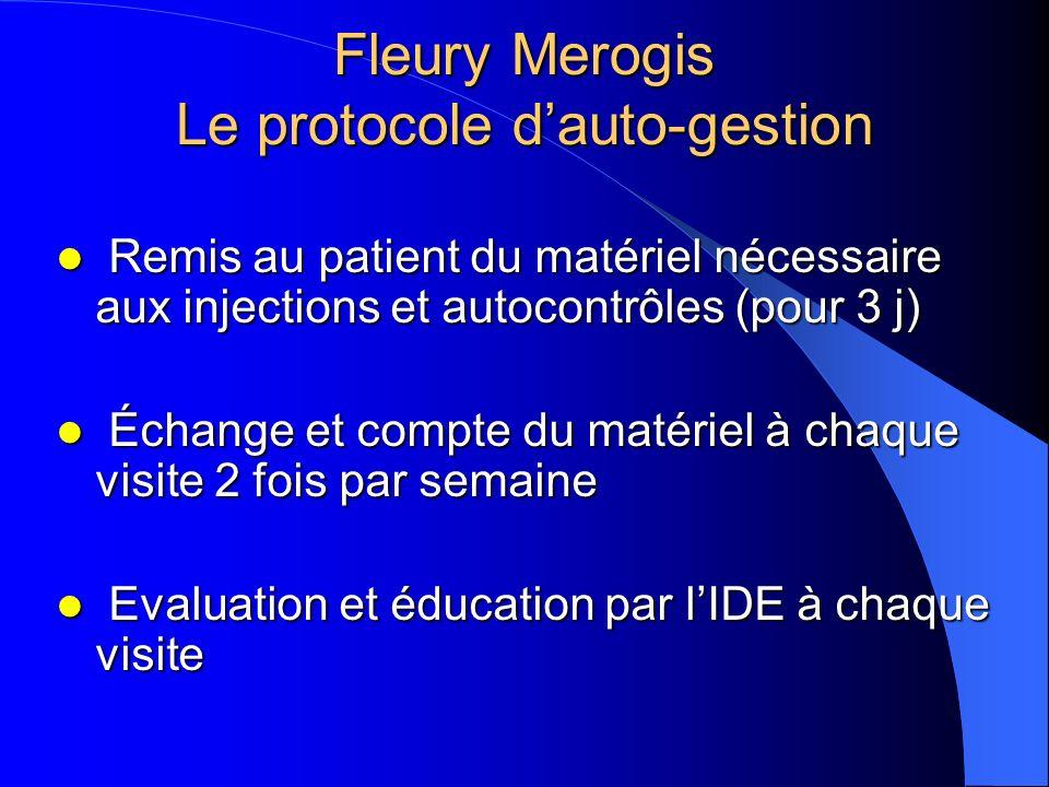 Fleury Merogis Le protocole d'auto-gestion