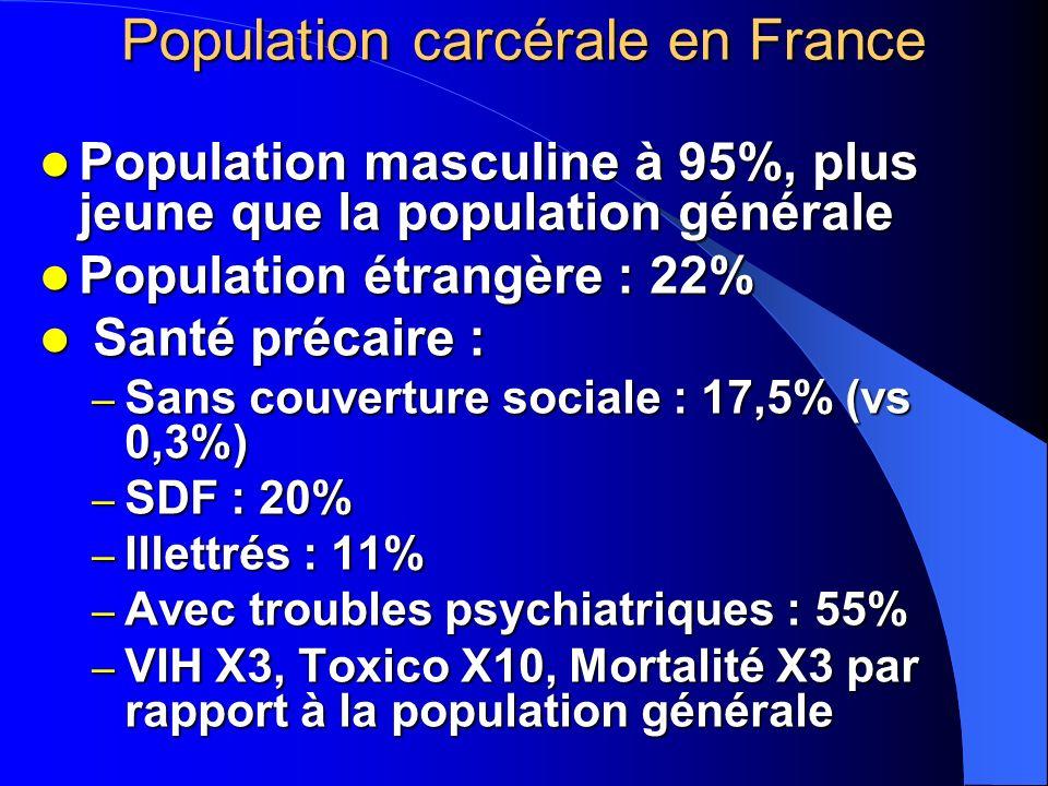Population carcérale en France