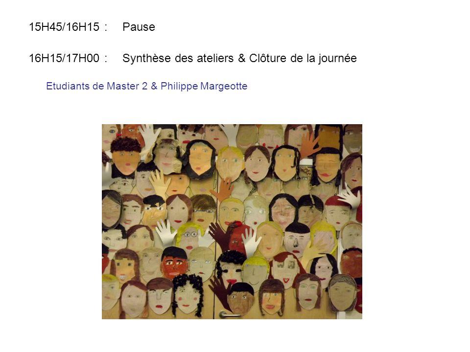 Etudiants de Master 2 & Philippe Margeotte