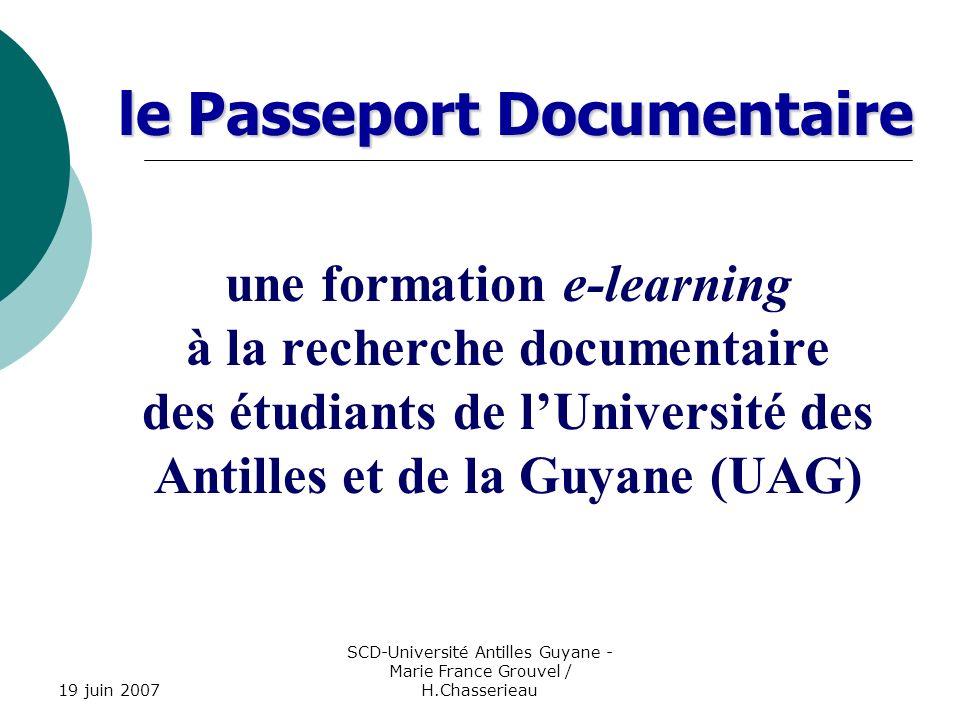 SCD-Université Antilles Guyane - Marie France Grouvel / H.Chasserieau