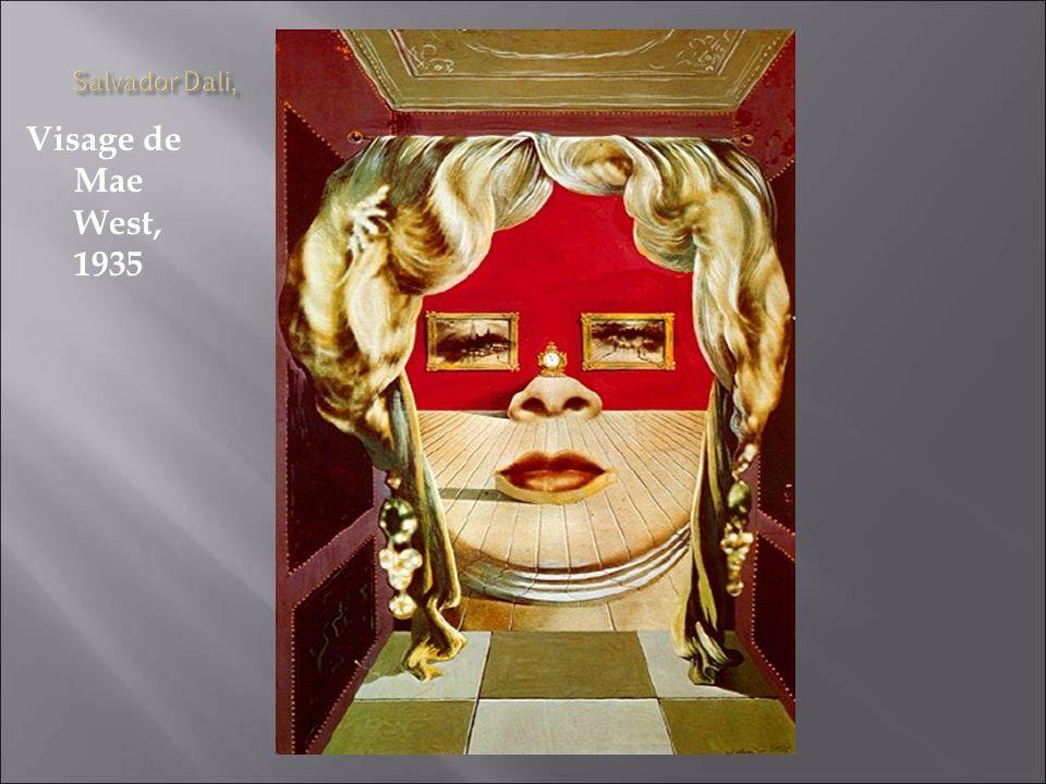 Visage de Mae West, 1935