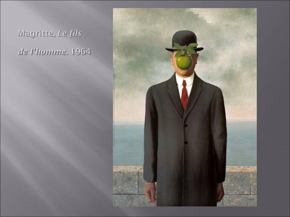 Magritte, Le fils de l'homme. 1964