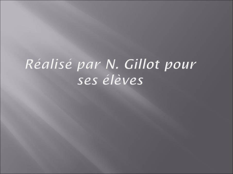 Réalisé par N. Gillot pour ses élèves