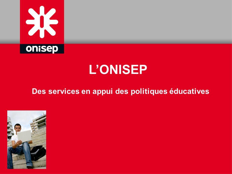 Des services en appui des politiques éducatives