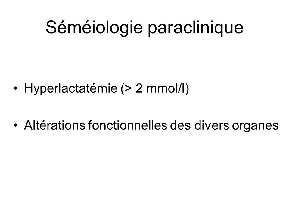 Séméiologie paraclinique