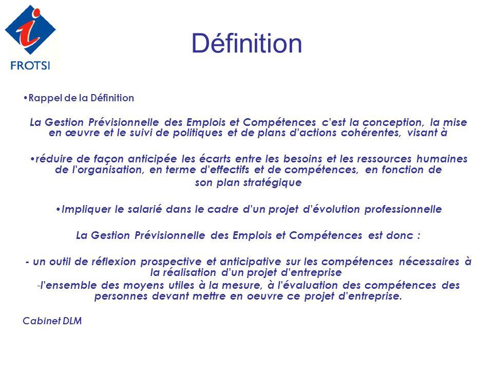 La Gestion Prévisionnelle des Emplois et Compétences est donc :