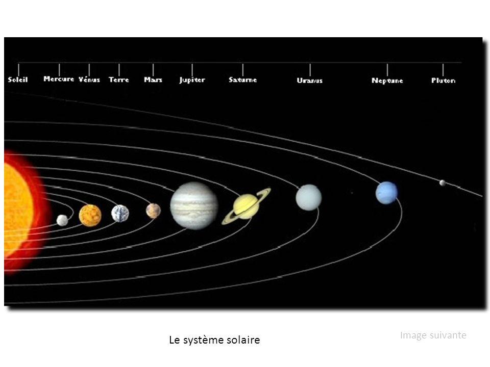 Image suivante Le système solaire