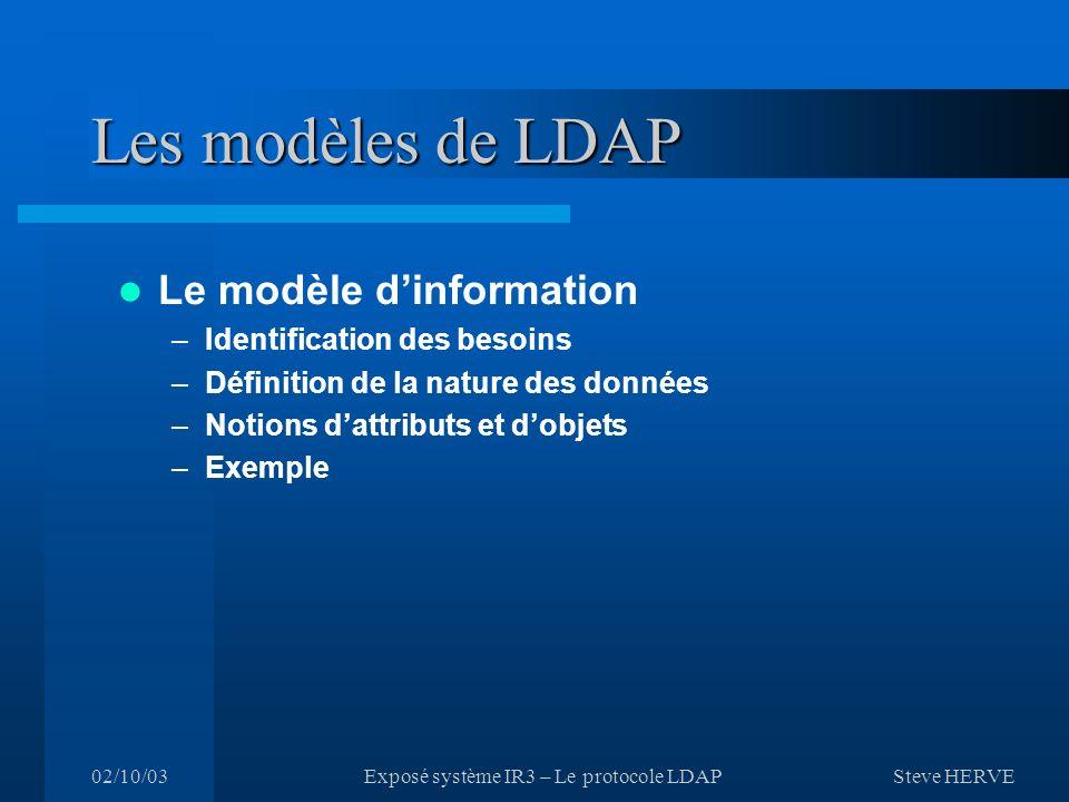 Exposé système IR3 – Le protocole LDAP