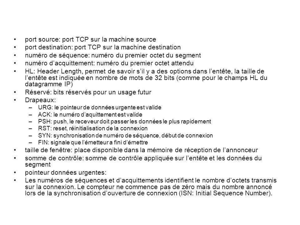 port source: port TCP sur la machine source