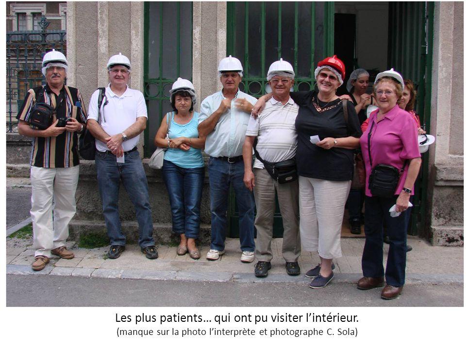 Les plus patients… qui ont pu visiter l'intérieur