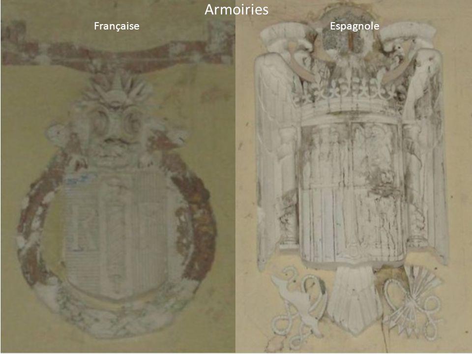 Armoiries Française Espagnole