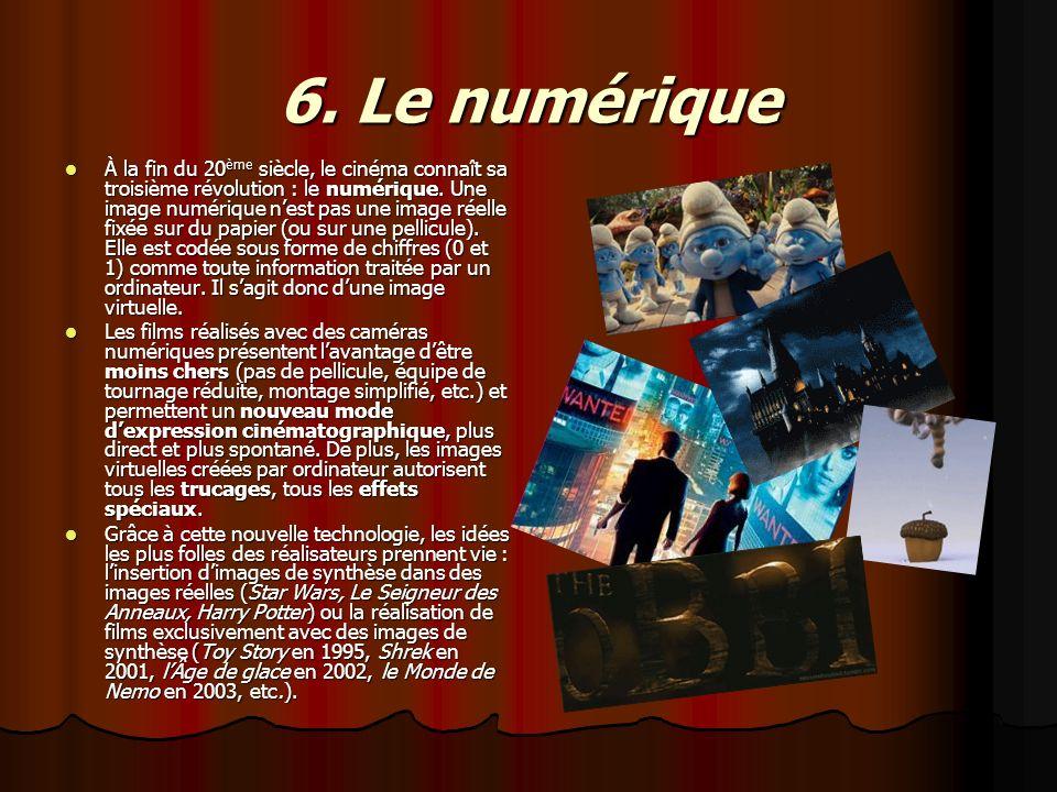 6. Le numérique