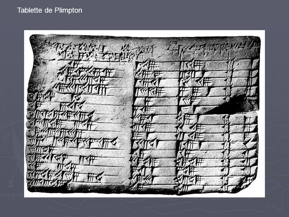 Tablette de Plimpton