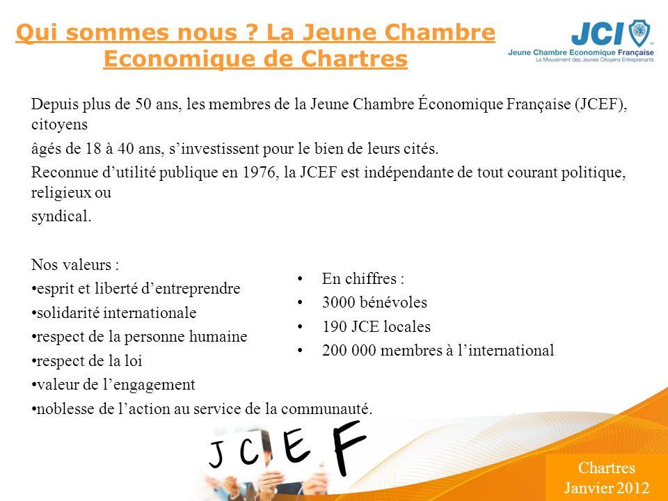Qui sommes nous La Jeune Chambre Economique de Chartres