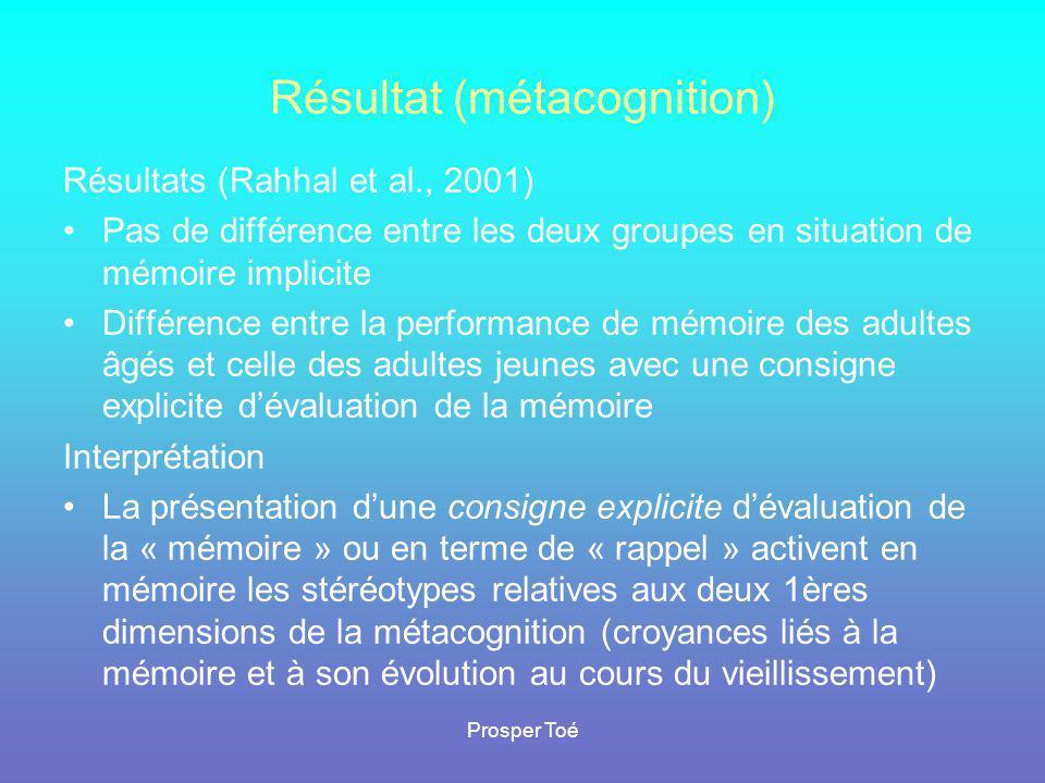 Résultat (métacognition)