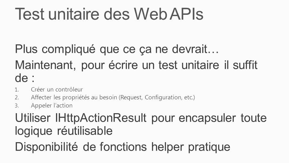 Test unitaire des Web APIs