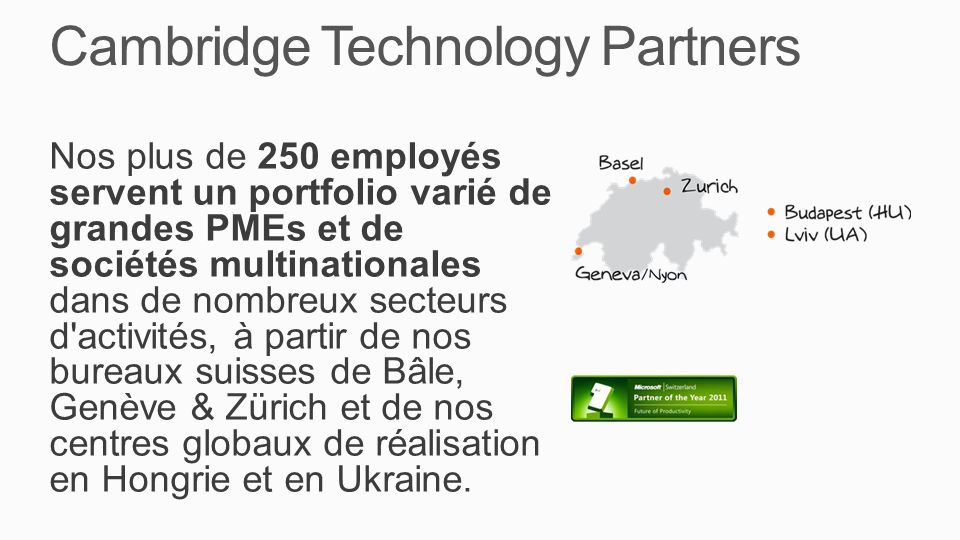 Cambridge Technology Partners